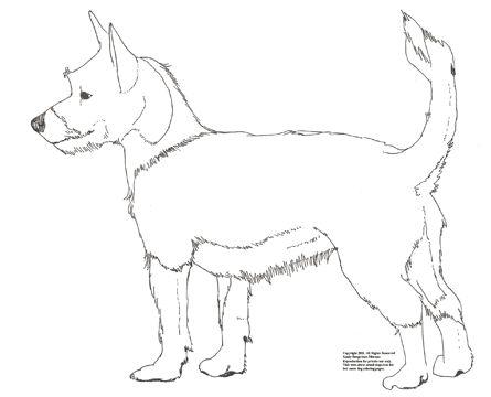Old Dog Drawing