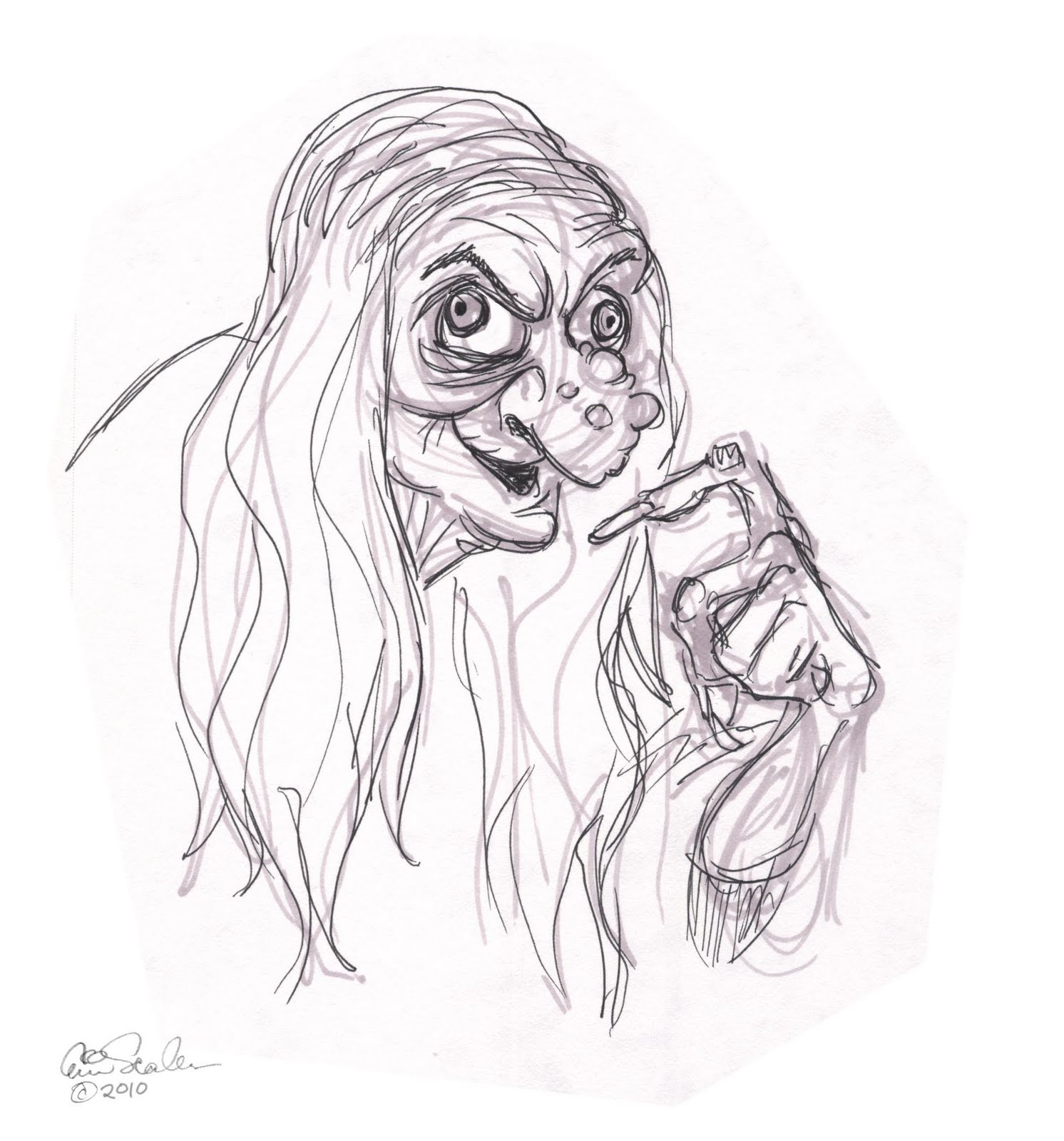 The Best Free Hag Drawing Images  Download From 9 Free
