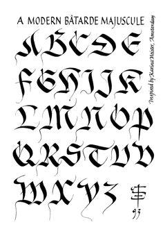 236x340 Gothic Alphabets Gothic Alphabet, Gothic And Calligraphy
