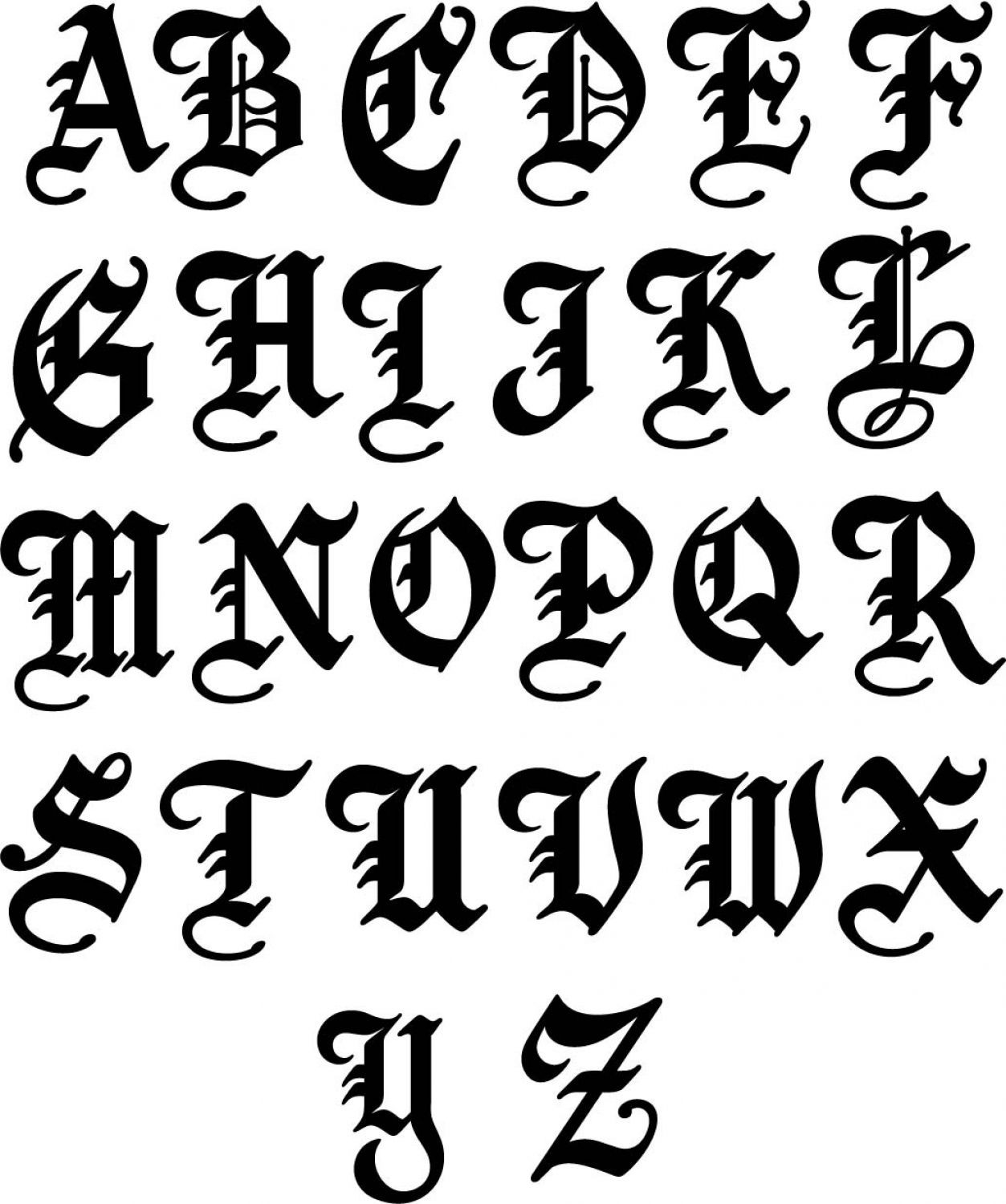old english lettering letters drawing at getdrawings free for 445