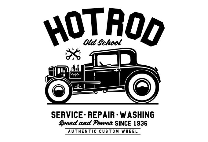 681x465 Hot Rod Old School