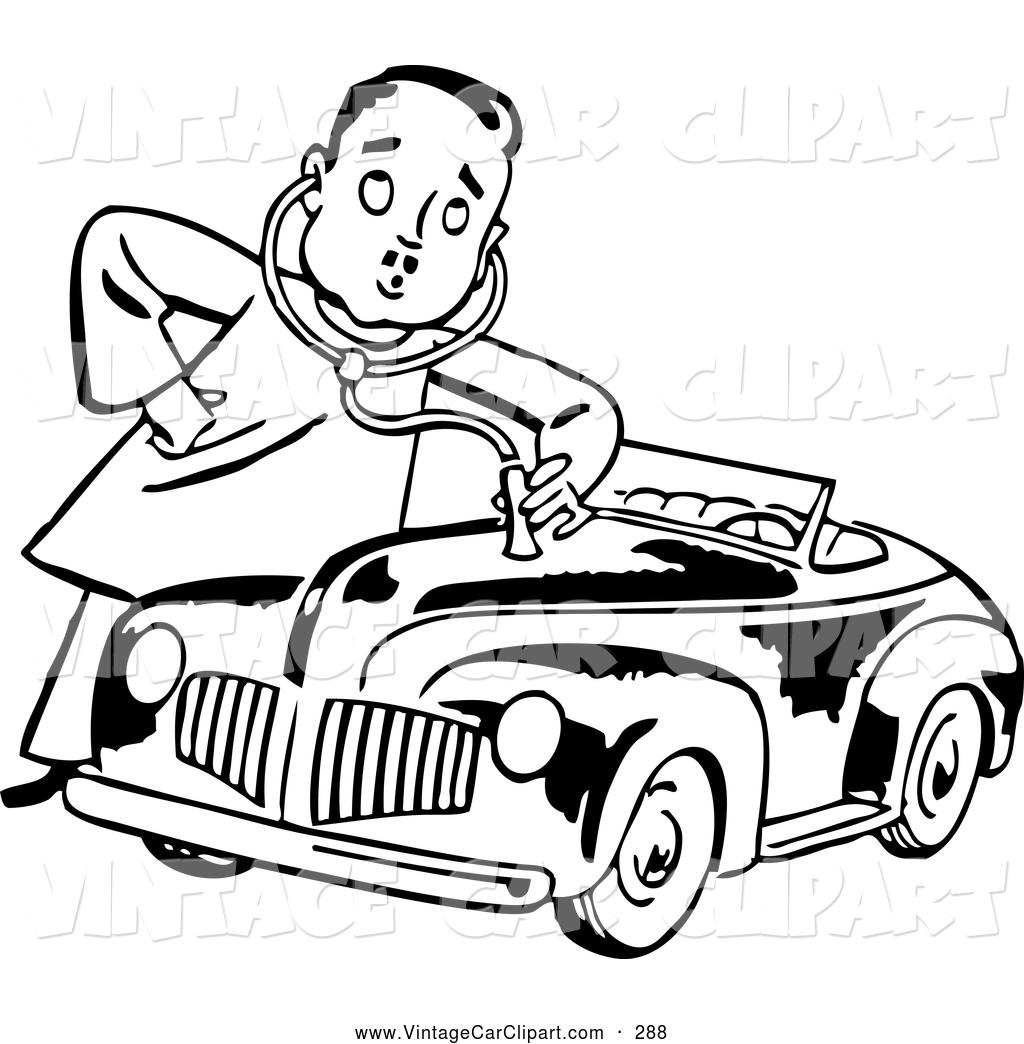 1024x1044 Royalty Free Man Stock Vintage Car Designs