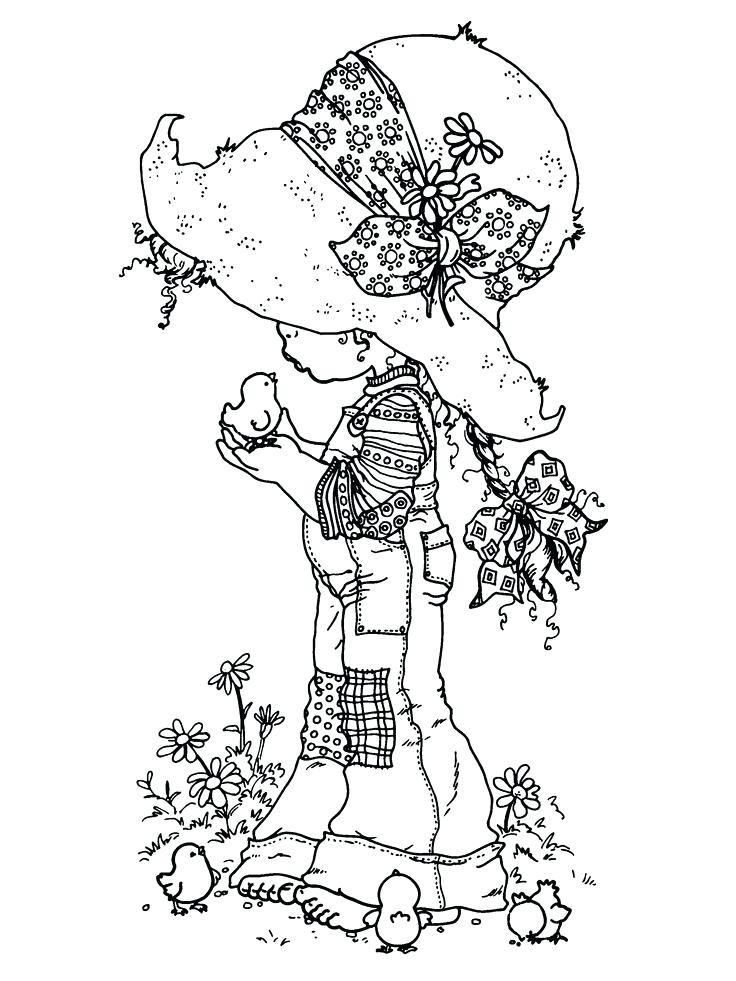 736x981 Holly Hobbie Coloring Pages Holly Coloring Pages Google Search Old