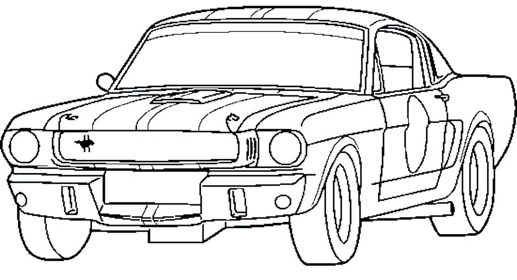 1024x555 Ford Coloring Pages Ford Coloring Pages Mustang Page Medium