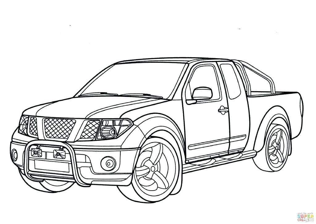 1024x724 Pickup Truck Coloring Pages How To Draw An Apple Red Ford