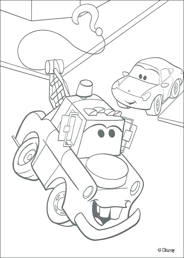 607x850 Cars And Trucks Coloring Pages Tow Truck Coloring Pages Car