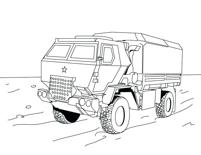 805x623 Coloring Pages Garbage Truck Old Truck Coloring Pages Monster