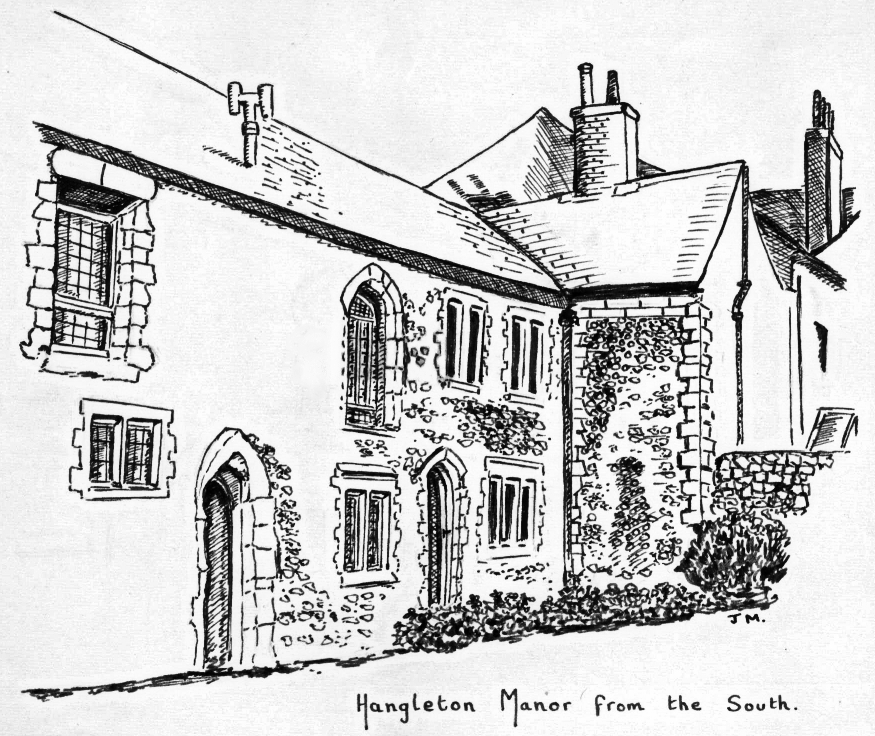875x736 Hove In The Past Hangleton Manor, Hove