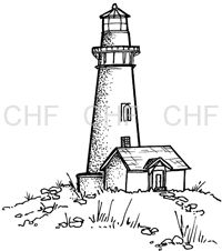 Old Lighthouse Drawing
