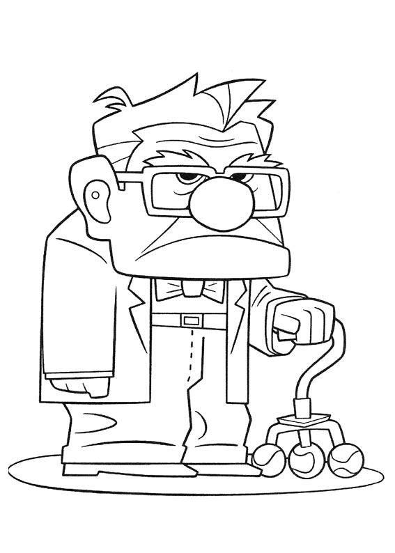 Old Man Cartoon Drawing