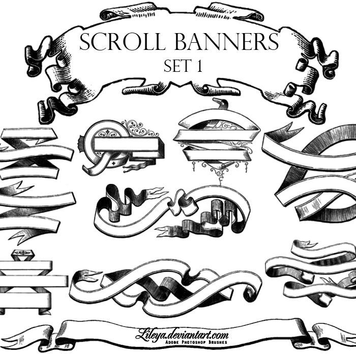700x695 Banner Scroll Design Template Dromici.top Banners