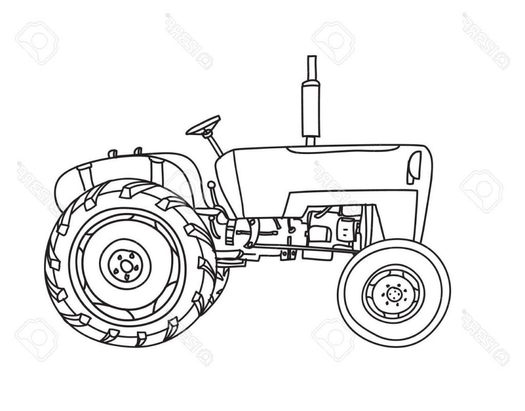 old tractor drawing at free for personal use old tractor drawing of your choice. Black Bedroom Furniture Sets. Home Design Ideas