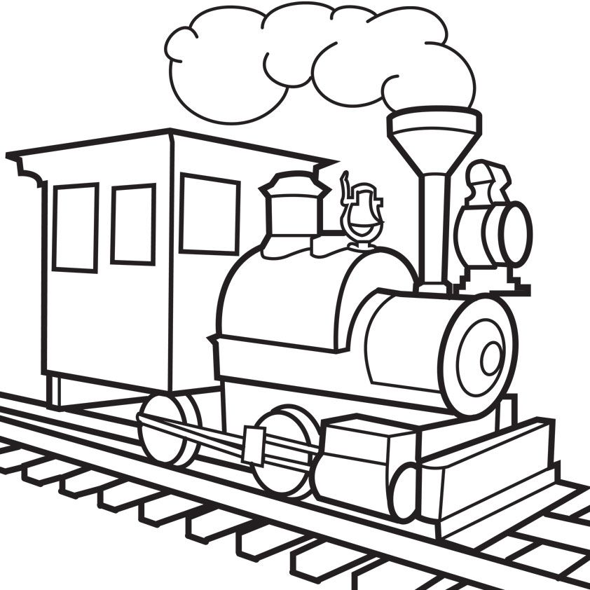 Old Train Drawing at GetDrawings.com | Free for personal use Old ...
