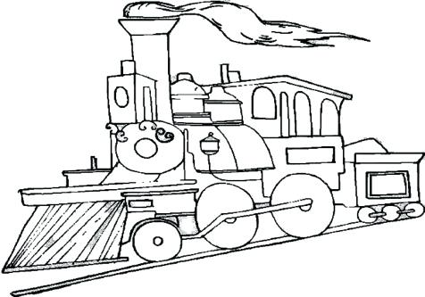 476x333 Inspirational Steam Engine Coloring Pages Best Of Drawing Train