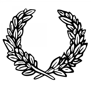 300x300 Olive Leaf Clipart Kid Laurel Template Cliparts That You Can