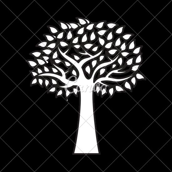 550x550 Olive Tree Plant Isolated Icon