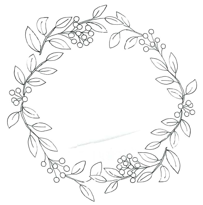 840x848 Leaf Wreath Olive Leaf Wreath Diy Ibbc.club