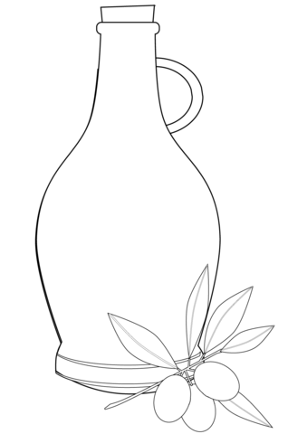 339x480 Olive Oil Coloring Page Free Printable Coloring Pages