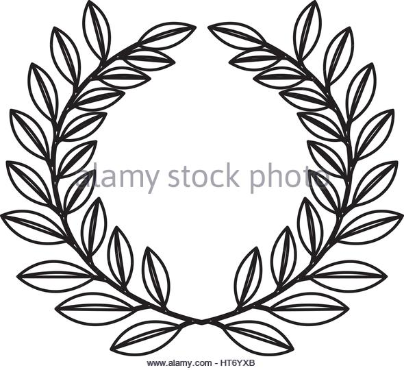 590x540 Olive Wreath Crown Stock Photos Amp Olive Wreath Crown Stock Images