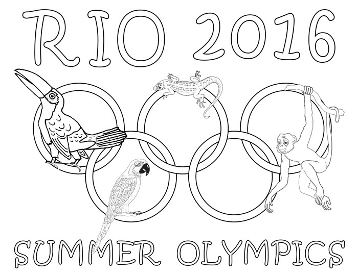 london olympics logo coloring pages - photo#13