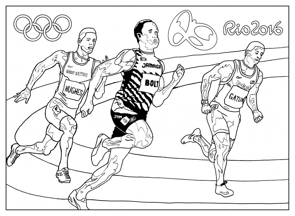 Olympics Drawing