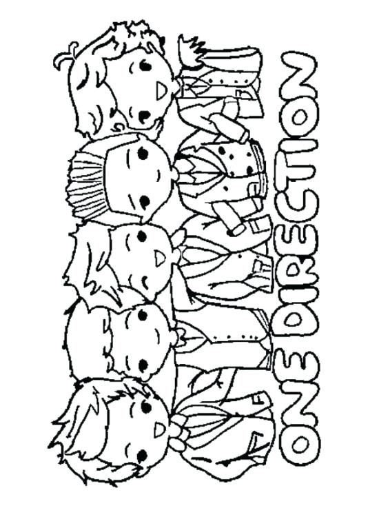 550x737 One Direction Printable Coloring Pages One Direction Print Out