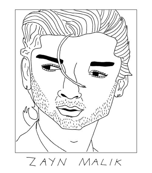 500x568 Badly Drawn One Direction Tumblr