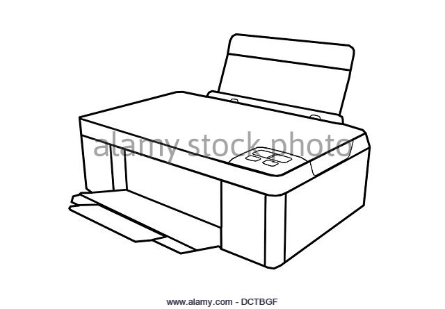 The Best Free Printer Drawing Images Download From 86 Free Drawings