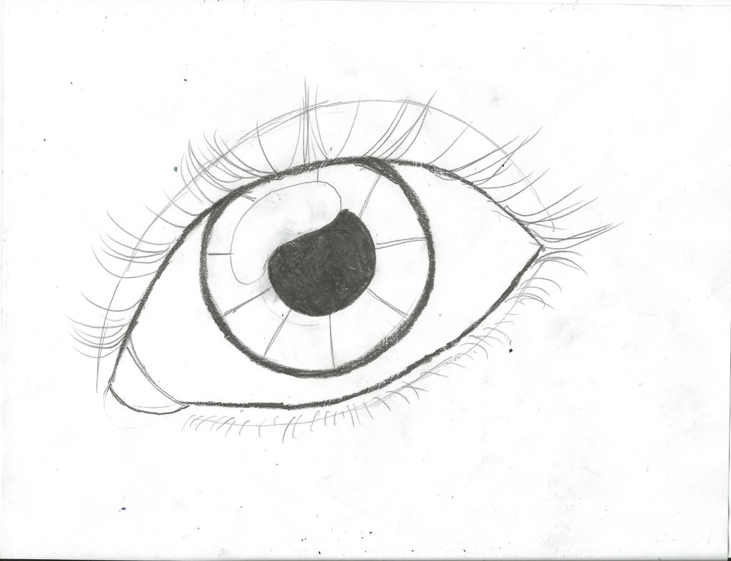 1024x787 How To Draw An Eye (Updated) 15 Steps