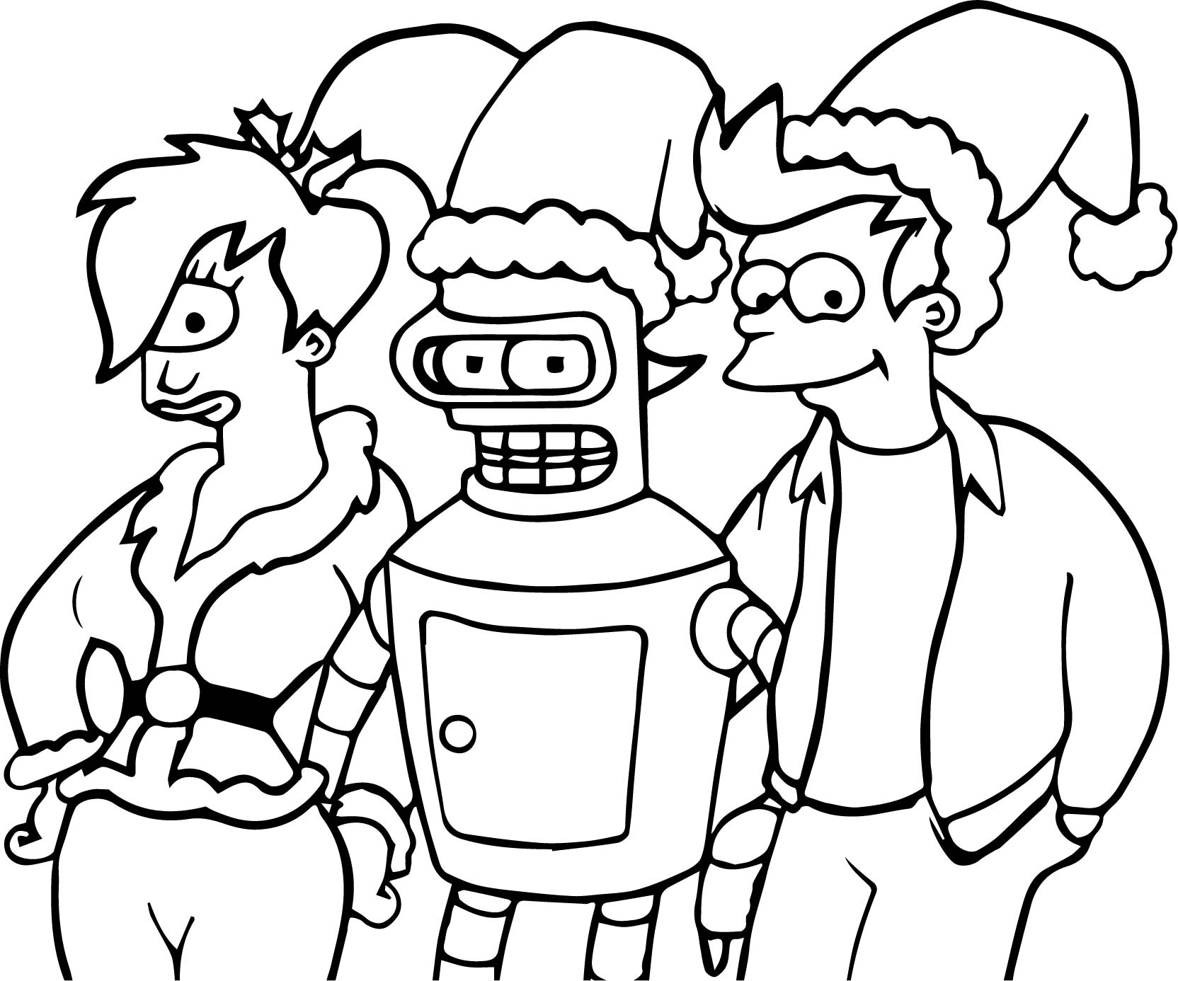 1664x1386 Anime Robot One Eye Girl And Boy Coloring Page Wecoloringpage