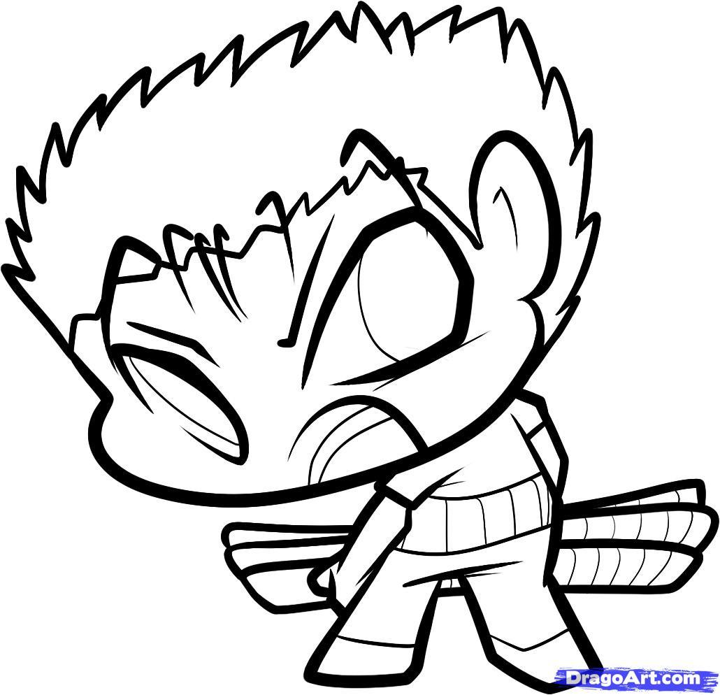 1030x994 One Piece Easy Drawings How To Draw Chibi Zoro, Zoro, One Piece
