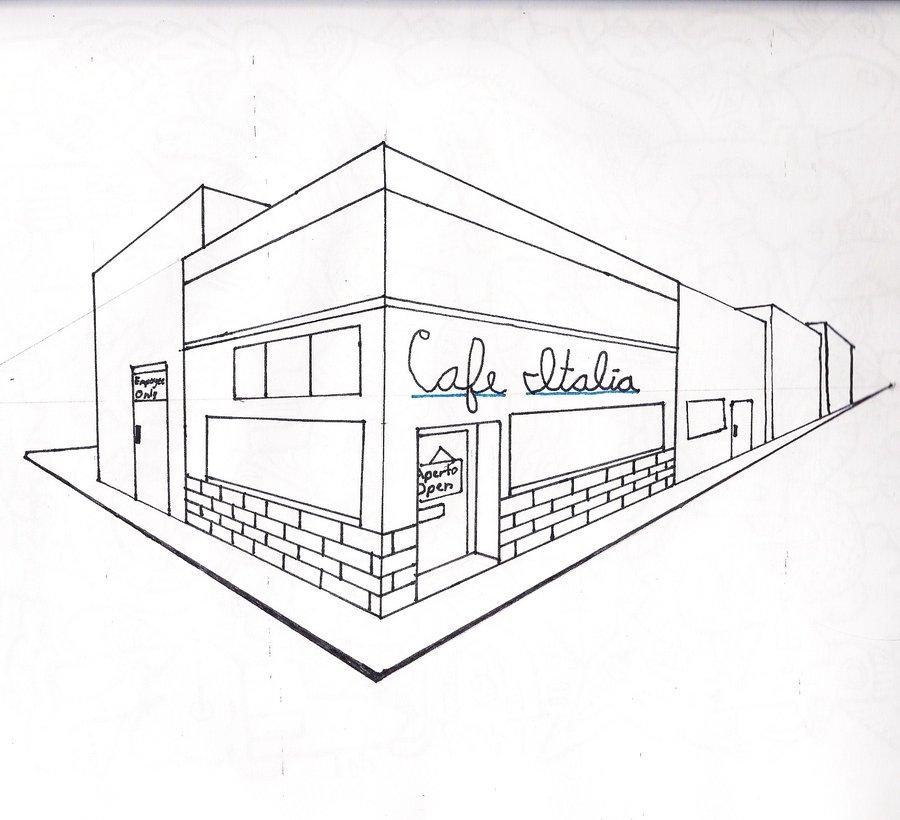 900x820 Cafe Italia Rough Draft By Usagi Hikari9