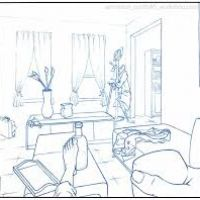 200x200 How To Draw A Bedroom Step By Step