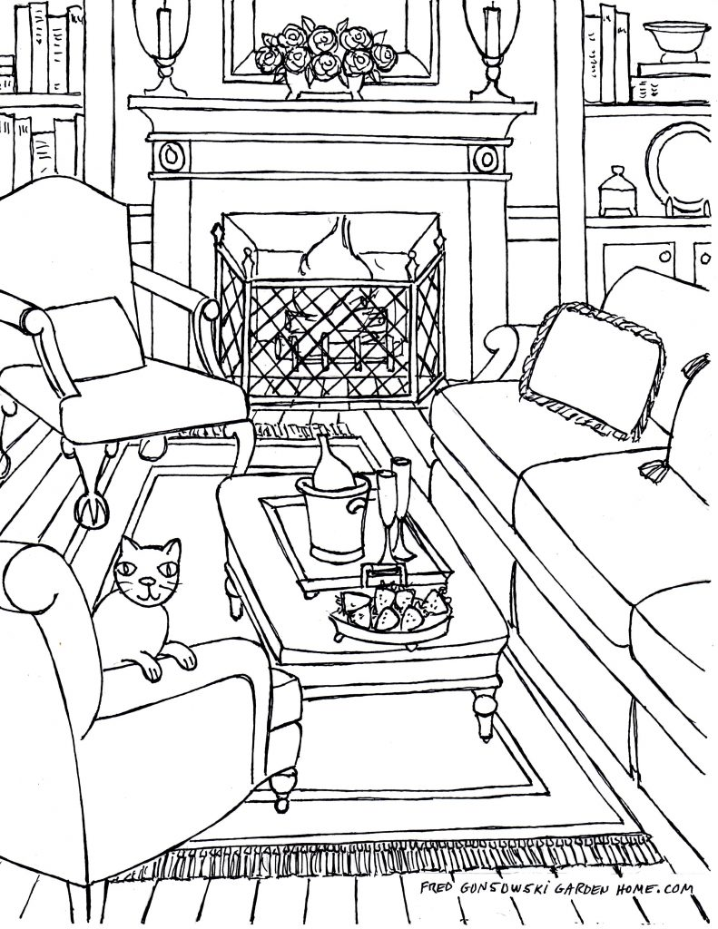 791x1024 Living Room Drawing Of Living Room Ideas Inspirations One Point