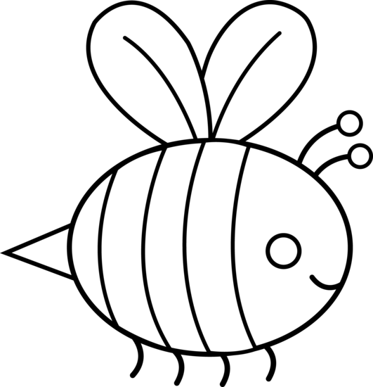 531x550 Bumble Bee Stencil For Onesie Decorating! (For Jenna Amp Tim To Make