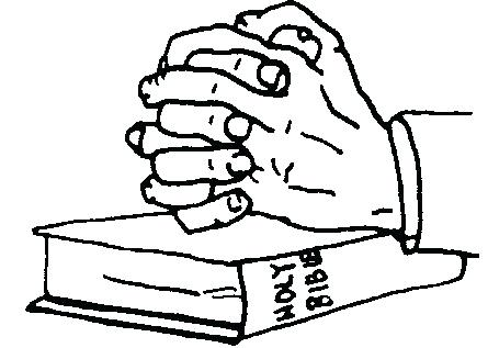 445x317 Bible Clipart Praying Hands With Bible Open Bible Clipart Png
