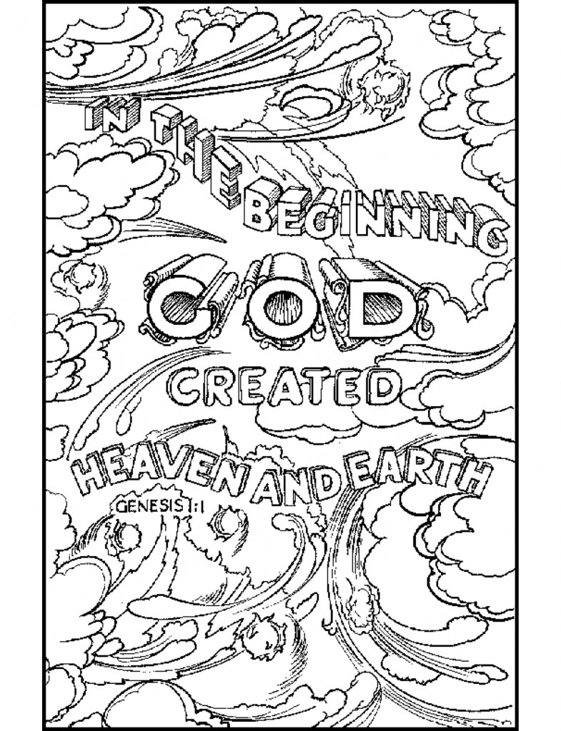 785x1024 Bible Coloring Pages Lovin' On My Grandkids Bible