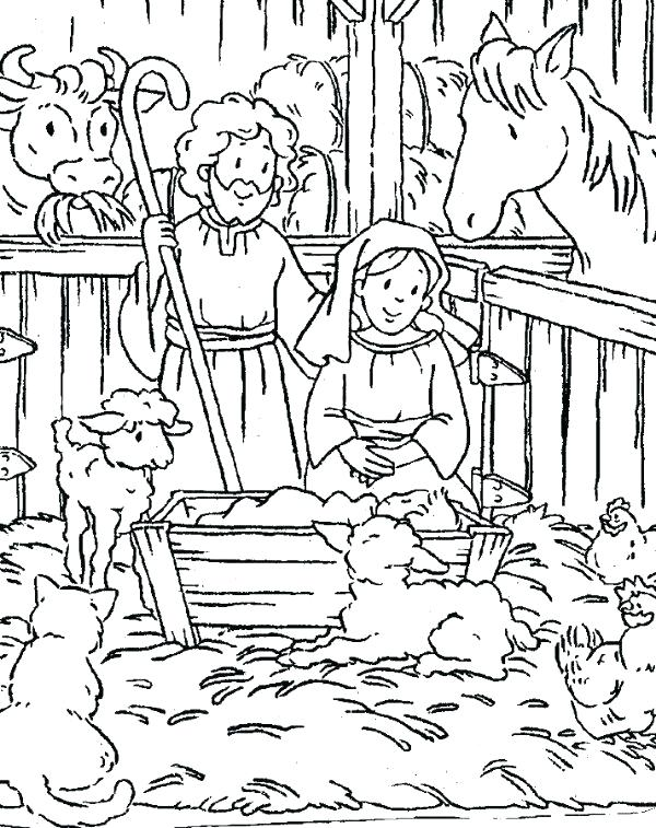 600x757 Christian Coloring Open And Print This Christian Coloring Page
