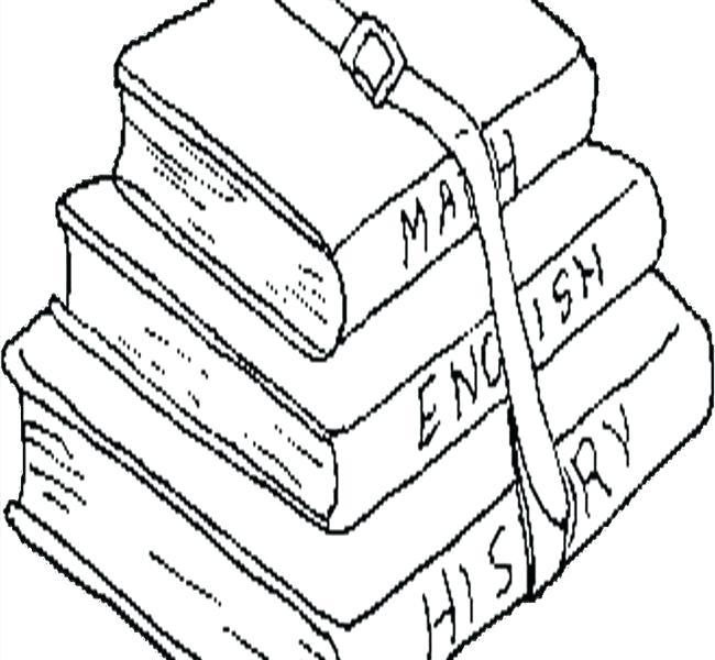 650x600 Open Book Coloring Page International Literacy Day 8 Open A Book