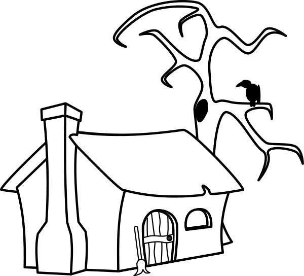 600x544 Wikijuniormaze And Drawing Bookwitch's Cottage