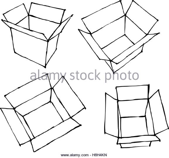 577x540 Opened Gift Box Stylized Stock Photos Amp Opened Gift Box Stylized