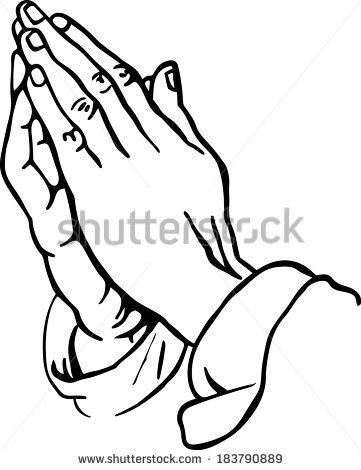 361x470 Open Praying Hands Drawing Clipart Panda