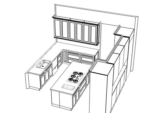 500x362 About To Sign Off On My Kitchen Layout. Thoughts