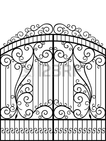 338x450 Iron Gate Stock Photos. Royalty Free Business Images