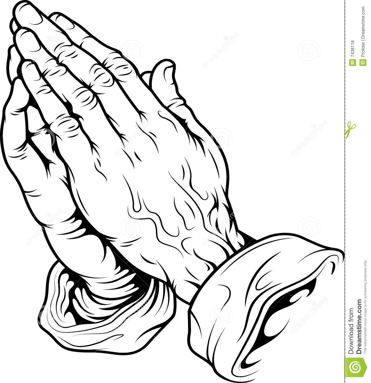 1259x1300 Praying Hands Coloring Page