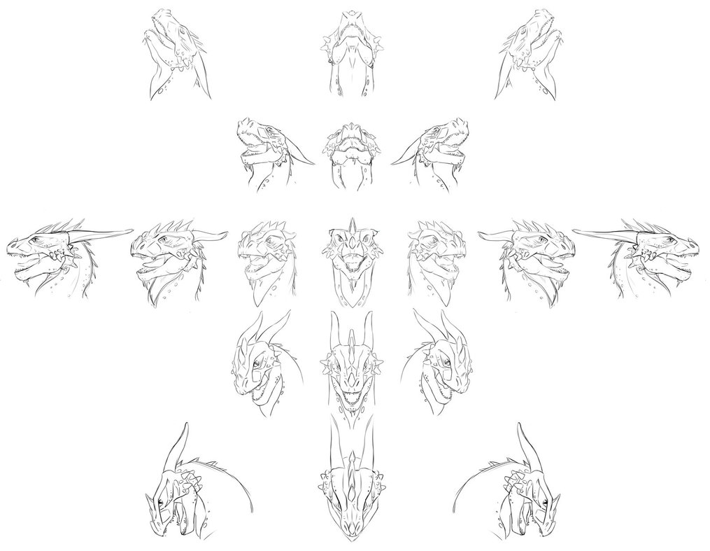 1015x787 Dragon Head Open Mouth By Sofmer
