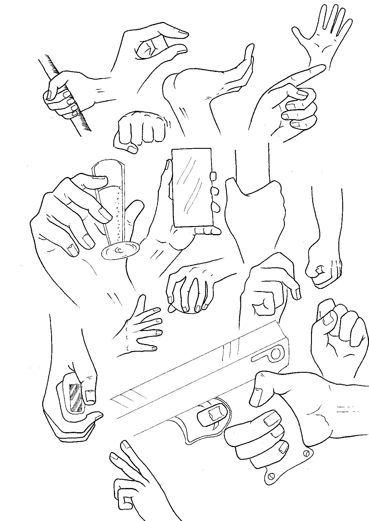 1241x1754 Drawn Fist Open Hand