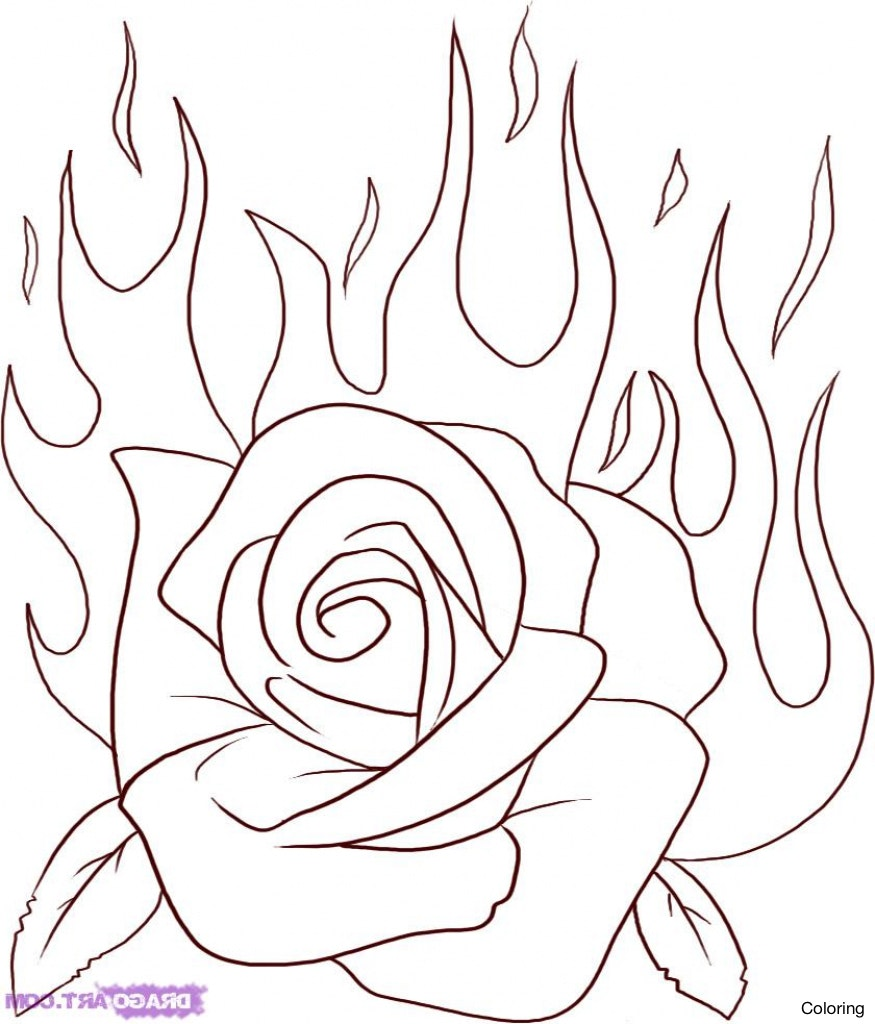 875x1024 Maxresdefault How To Draw Roses Coloring A Rose Easy Open Art