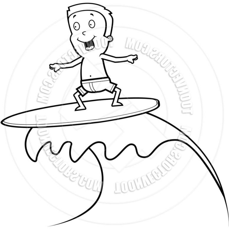 775x775 Unique Easy Surfing Drawings Vector Library