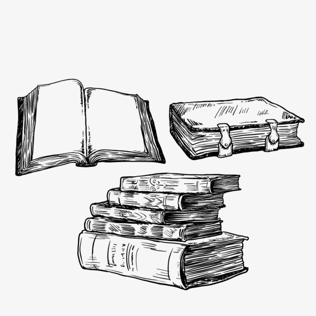 650x651 Vector Of A Pile Of Books, Book, Open Book, Read Png And Vector